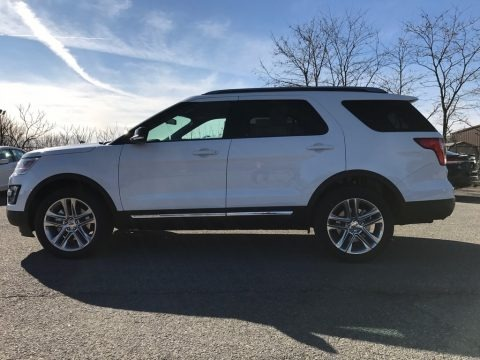 Shadow Black 2017 Ford Explorer XLT 4WD