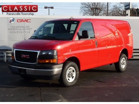 Cardinal Red 2017 GMC Savana Van 2500 Cargo