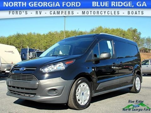 Shadow Black 2017 Ford Transit Connect XL Van