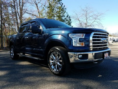 Blue Jeans 2016 Ford F150 XLT SuperCrew 4x4