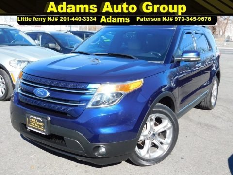 Kona Blue Metallic 2011 Ford Explorer Limited 4WD