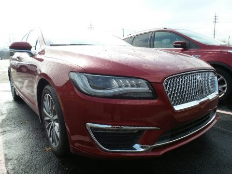 Ruby Red 2017 Lincoln MKZ Select AWD