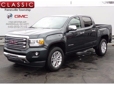 Dark Slate Metallic 2017 GMC Canyon SLT Crew Cab 4x4