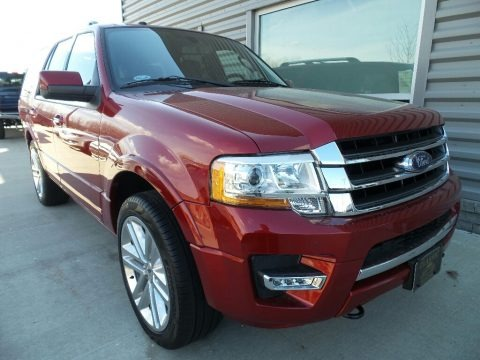 Ruby Red 2017 Ford Expedition Limited 4x4