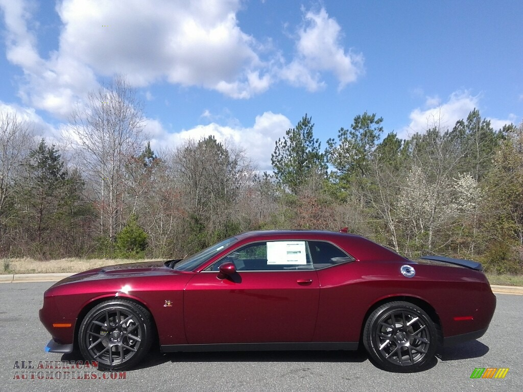 2017 dodge challenger r t scat pack in octane red 573113 all american automobiles buy. Black Bedroom Furniture Sets. Home Design Ideas