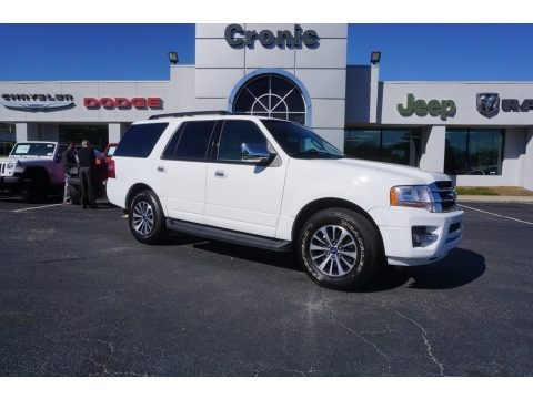Oxford White 2016 Ford Expedition XLT