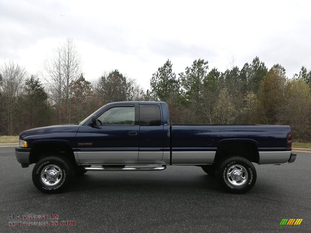 2001 dodge ram 2500 slt quad cab 4x4 in patriot blue pearl for Steve white motors inc