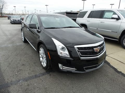 Stellar Black Metallic 2017 Cadillac XTS Luxury AWD