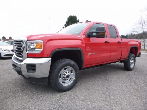 Cardinal Red 2017 GMC Sierra 2500HD Double Cab 4x4