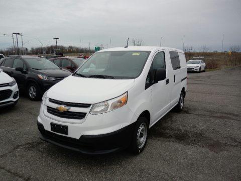 Designer White 2017 Chevrolet City Express LT