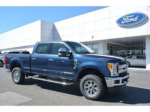 Blue Jeans 2017 Ford F250 Super Duty XLT Crew Cab 4x4