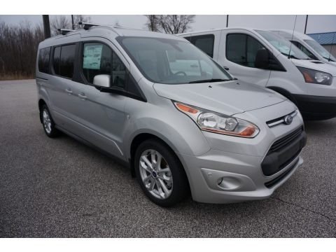Silver 2017 Ford Transit Connect Titanium Wagon