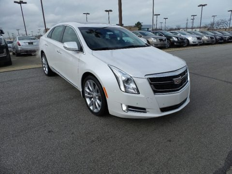 Crystal White Tricoat 2017 Cadillac XTS V-Sport Premium Luxury AWD