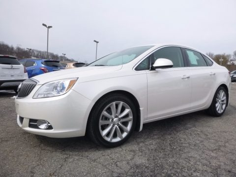 White Diamond Tricoat 2014 Buick Verano Convenience