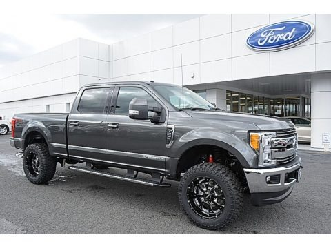 Magnetic 2017 Ford F250 Super Duty Lariat Crew Cab 4x4