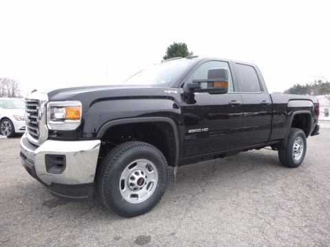 Onyx Black 2017 GMC Sierra 2500HD Double Cab 4x4