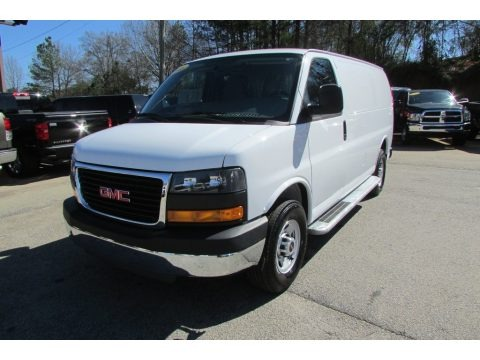 Summit White 2015 GMC Savana Van 2500 Cargo