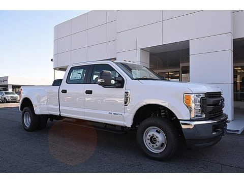Oxford White 2017 Ford F350 Super Duty XL Crew Cab 4x4