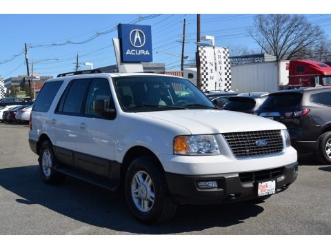 Oxford White 2005 Ford Expedition XLT 4x4