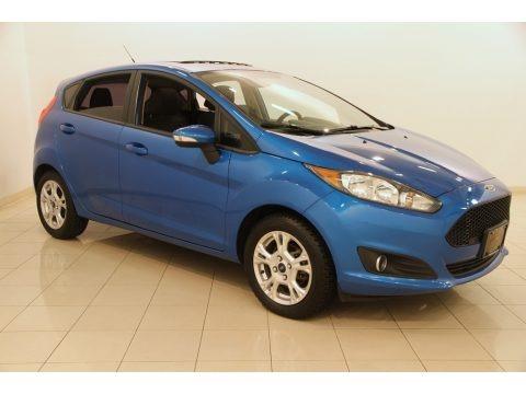 Blue Candy 2014 Ford Fiesta SE Hatchback