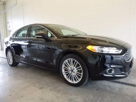 Shadow Black 2016 Ford Fusion SE AWD