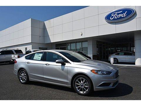 Ingot Silver 2017 Ford Fusion SE