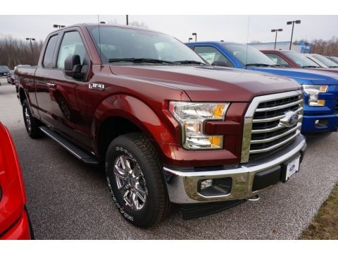 Bronze Fire 2017 Ford F150 XLT SuperCab 4x4