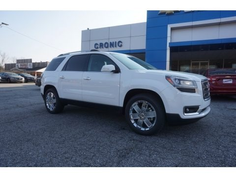 Summit White 2017 GMC Acadia Limited FWD