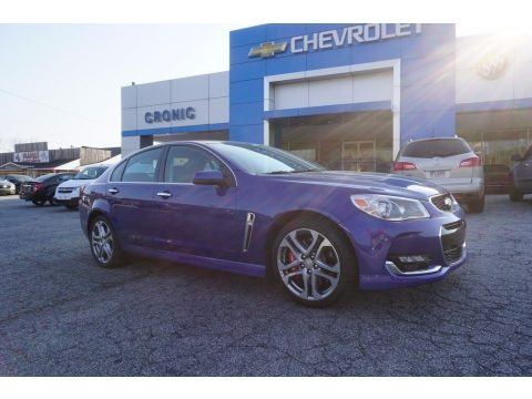 Slipstream Blue Metallic 2017 Chevrolet SS Sedan