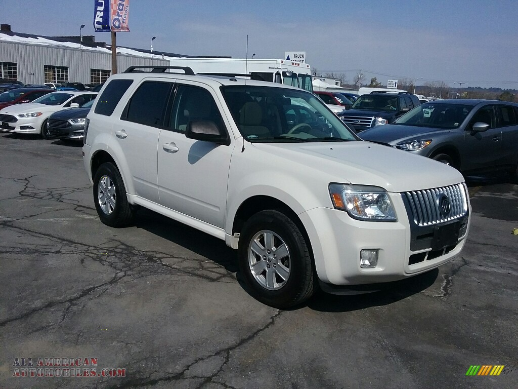 2010 Mariner V6 4WD - White Suede / Black photo #1