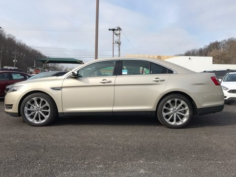 White Gold 2017 Ford Taurus Limited AWD