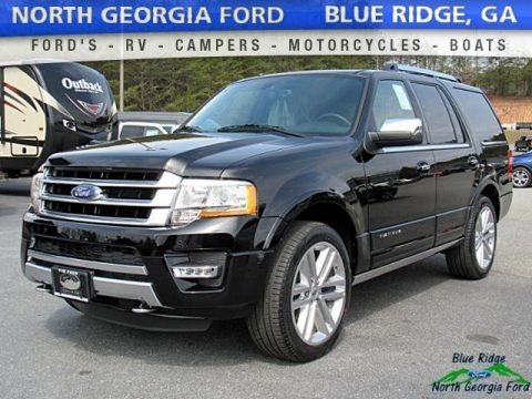 Shadow Black 2017 Ford Expedition Platinum 4x4