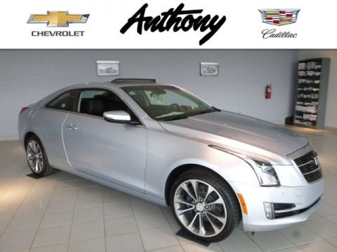 Radiant Silver Metallic 2017 Cadillac ATS Luxury AWD