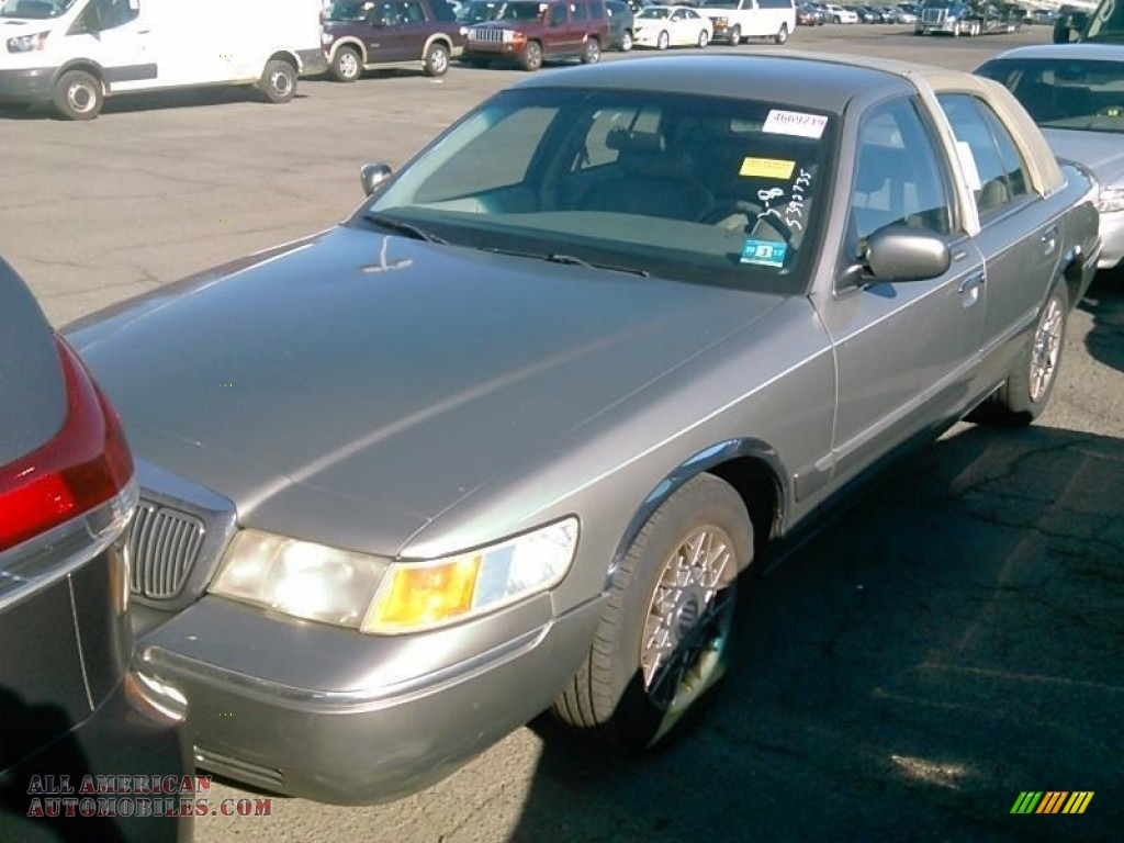 2000 Grand Marquis GS - Spruce Green Metallic / Dark Charcoal photo #1