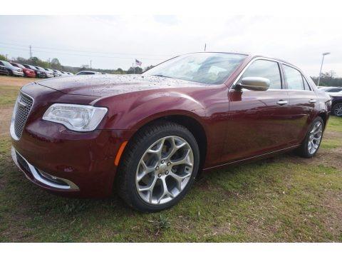 Velvet Red 2017 Chrysler 300 C Platinum