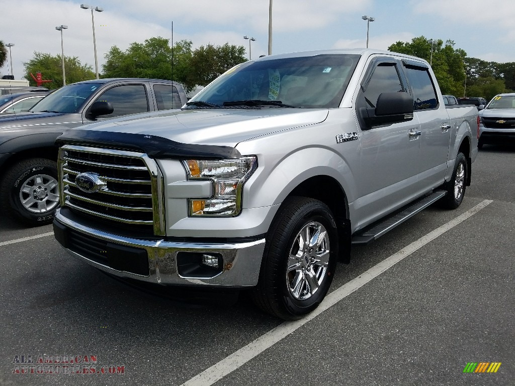 2016 Ford F150 Xlt Supercrew In Ingot Silver D34952