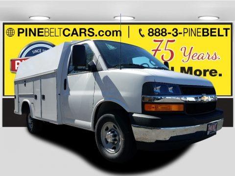 Summit White 2017 Chevrolet Express Cutaway 3500 Work Van