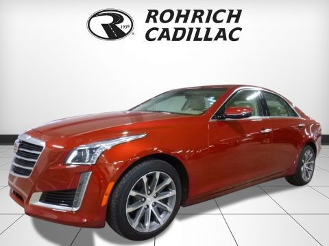 Red Obsession Tintcoat 2016 Cadillac CTS 2.0T Luxury AWD Sedan