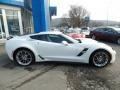 Chevrolet Corvette Grand Sport Coupe Arctic White photo #4
