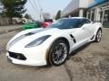 Chevrolet Corvette Grand Sport Coupe Arctic White photo #10