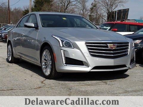 Radiant Silver Metallic 2017 Cadillac CTS Luxury