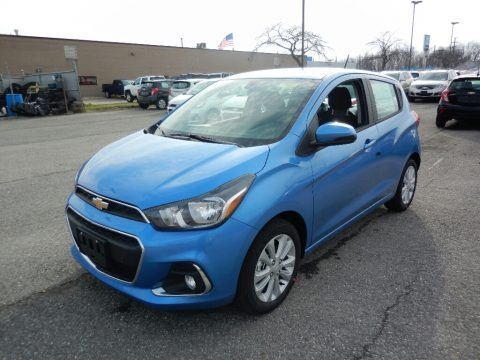 Splash Metallic 2017 Chevrolet Spark LT
