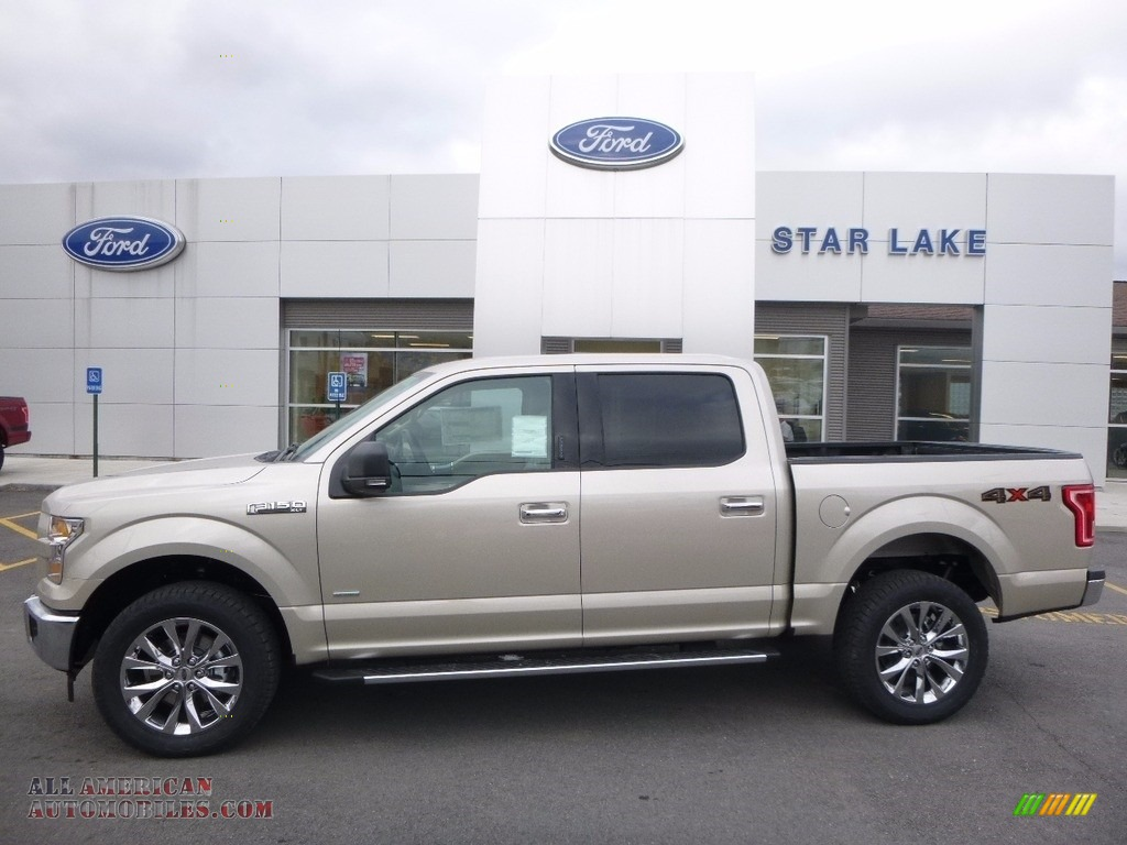 2017 Ford F150 Xlt Supercrew 4x4 In White Gold B64304