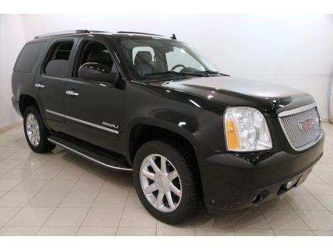 Onyx Black 2014 GMC Yukon Denali AWD