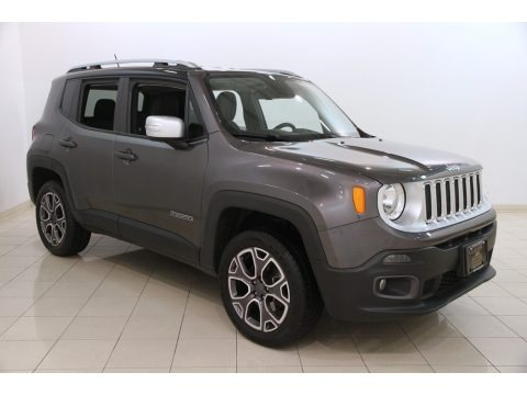 Granite Crystal Metallic 2016 Jeep Renegade Limited 4x4