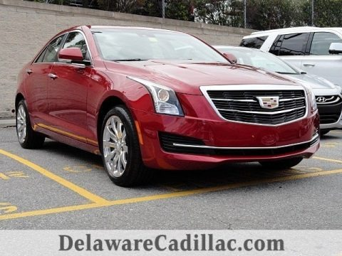 Red Obsession Tintcoat 2017 Cadillac ATS Luxury AWD