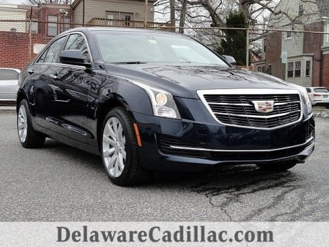Dark Adriatic Blue Metallic 2017 Cadillac ATS AWD
