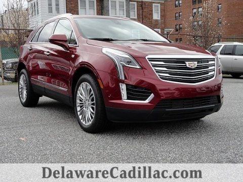 Red Passion Tintcoat 2017 Cadillac XT5 Premium Luxury AWD