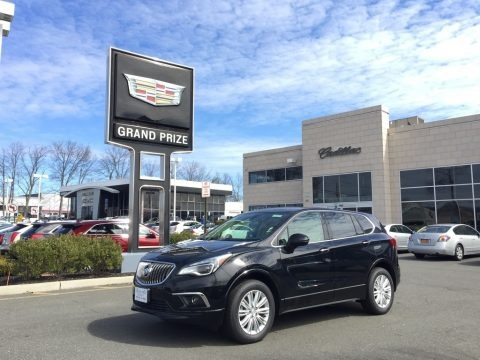 Ebony Twilight Metallic 2017 Buick Envision Preferred AWD