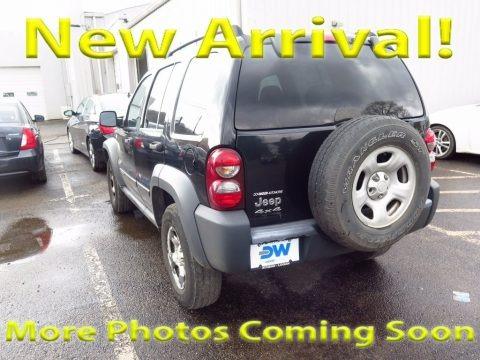 Bright Silver Metallic 2006 Jeep Liberty Sport 4x4
